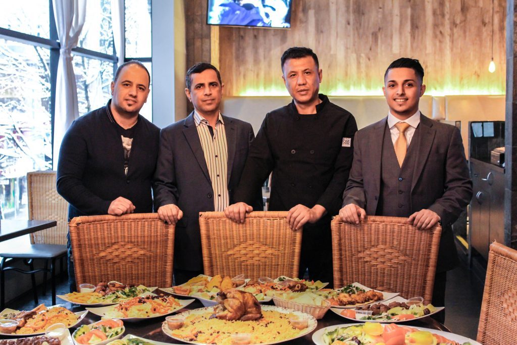 The owners and management team at Kabsa House