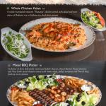 Full Family Platters Middle Eastern